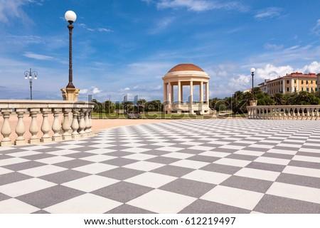 Terrazza Mascagni Livorno Tuscany Stock Photo 612219497 - Shutterstock