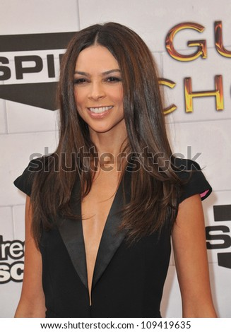 Terri Seymour at Spike TV's 2012 Guys Choice Awards  at Sony Studios, Culver City, CA. June 3, 2012  Los Angeles, CA Picture: Paul Smith / Featureflash