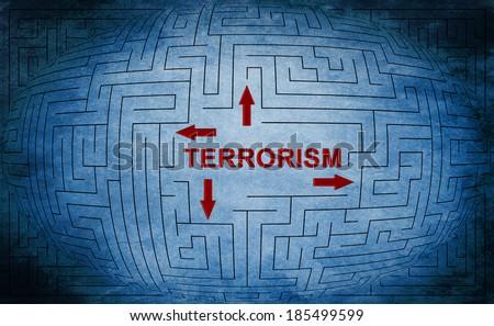 Terrorism - stock photo