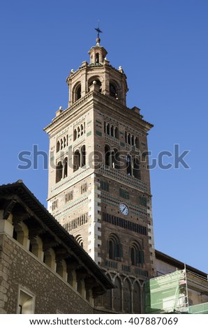 Teruel, Cathedral tower