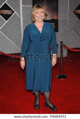 "Tess Harper at the Los Angeles premiere of her new movie ""No Country for Old Men"" at the El Capitan Theatre, Hollywood, CA. November 5, 2007  Los Angeles, CA Picture: Paul Smith / Featureflash"