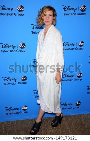 Tessa Ferrer at the Disney/ABC Summer 2013 TCA Press Tour, Beverly Hilton, Beverly Hills, CA 08-04-13