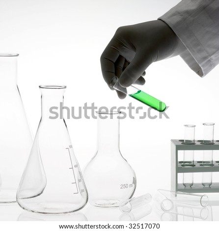 test-tube - stock photo