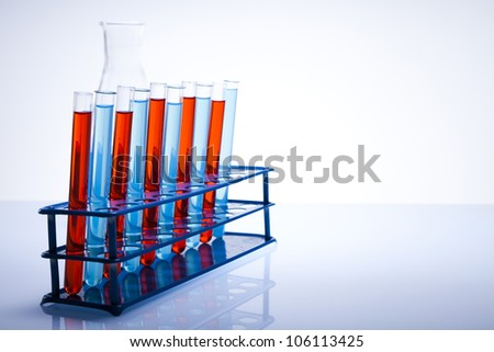 Test tube, chemical