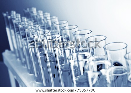 Test-tubes - stock photo