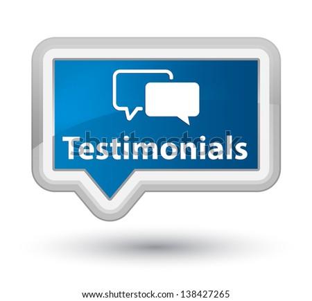 Testimonials - stock photo