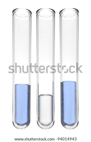 testtubes with liquids in greek colors