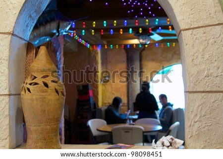 Tex Mex Restaurant - stock photo
