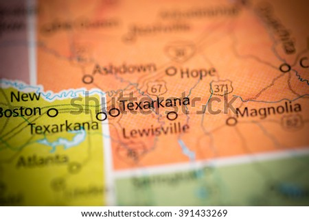 Texarkana. Arkansas. USA - stock photo