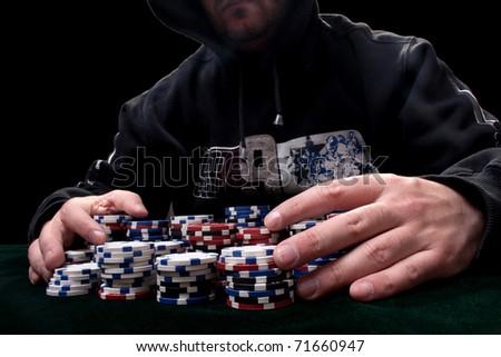 Texas Hold'em Poker - stock photo