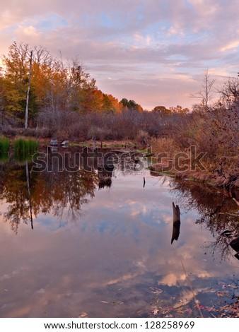 Texas landscape. - stock photo