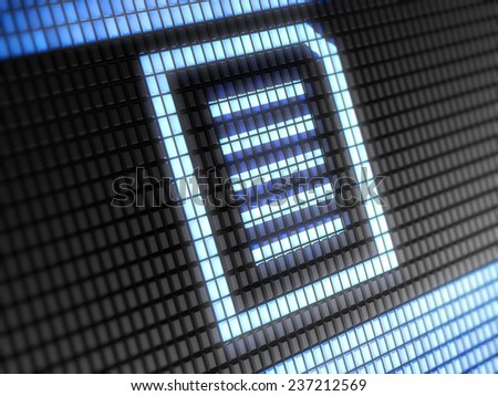 Text - stock photo