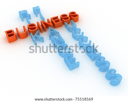 Text business financial risk