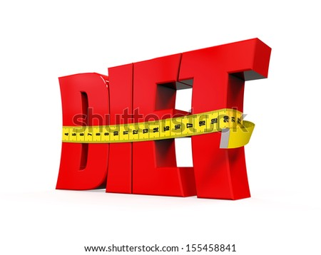 Text Diet with Measurement Tape