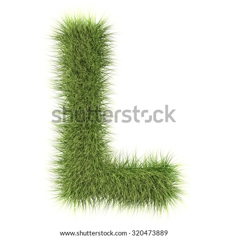 text fur alphabet - stock photo