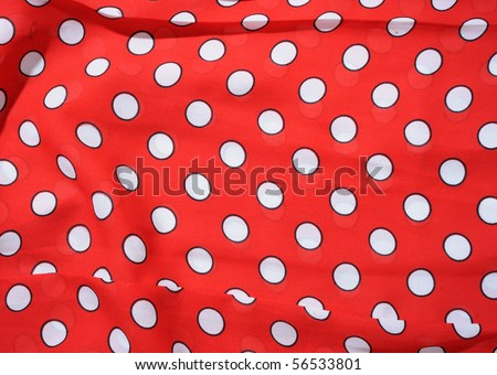 Textile as background in horizontal composition - stock photo