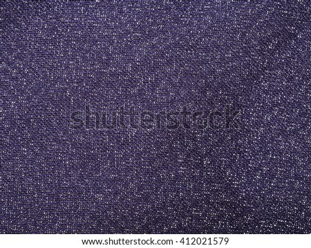 textile background - dark violet silk fabric with chiffon weave pattern of threads close up - stock photo