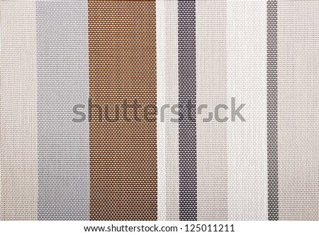 Textile background with colorful stripes - stock photo