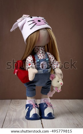 Textile doll