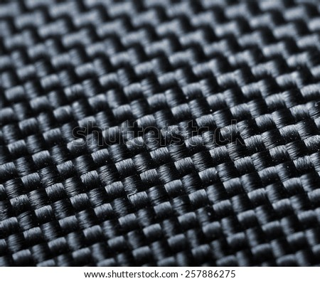 Textile industry and fabric macro background.