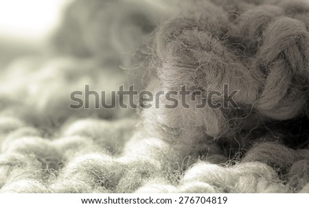 Textile industry, fabric sample background. - stock photo