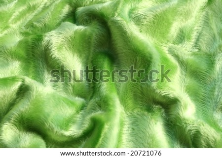 Textile pattern, green fabric