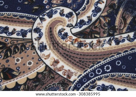 textile patterns cucumbers