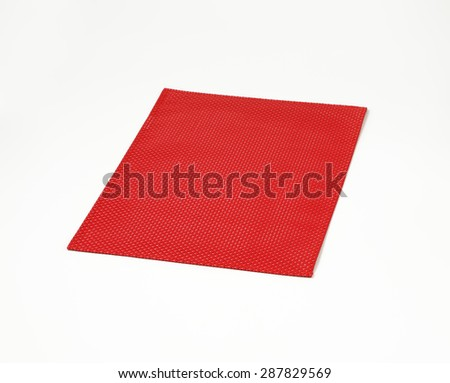 Textile table napkin