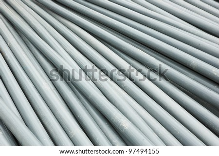 texture and pattern of plastic pipe