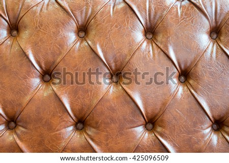 texture background from vintage Leather, For design with copy space for text or image. - stock photo