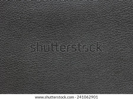 Texture background of black leather  for your work - stock photo