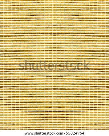 texture, background of brown bamboo - stock photo