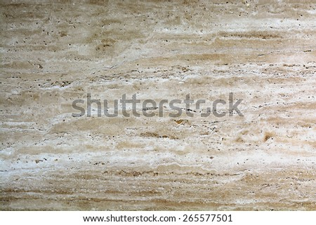 Texture Background of Weathered Brown or Beige Marble  - stock photo