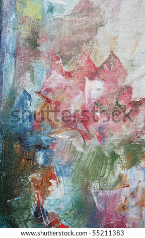 texture, background painting with paints - stock photo