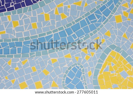 Texture background wallpaper pattern design wall ground glossy tile - stock photo