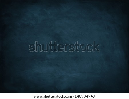 texture background with blue chalkboard - stock photo