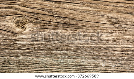 Texture, background, wooden board. Wood plank brown texture background.  Grunge background of weathered painted wooden plank.  - stock photo