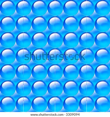 texture backgrounds blue sphere - stock photo