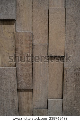 Texture, backgrounds. Vintage 3D panel oak.