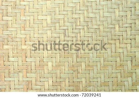 texture basket for background - stock photo