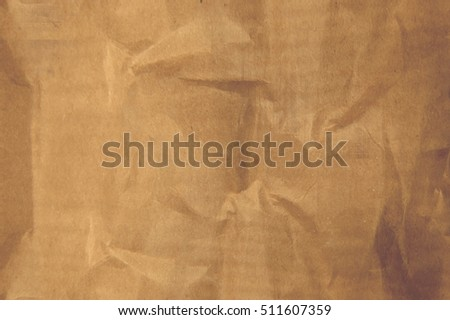 Texture beige crumpled paper. Cardboard. Abstract style background
