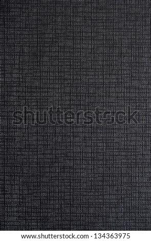 Texture black cloth, background - stock photo