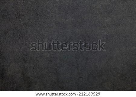 Texture black foam background - stock photo