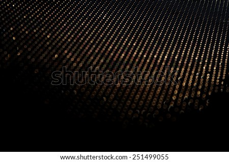 Texture bokeh  light from metal - stock photo