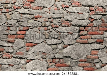 texture brick wall - stock photo