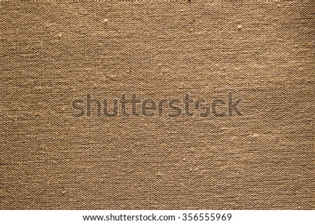 Texture canvas brown background - stock photo
