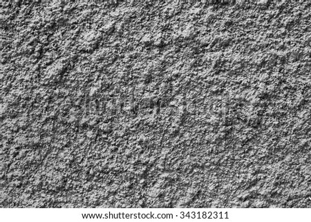 Texture cement on wall. - stock photo