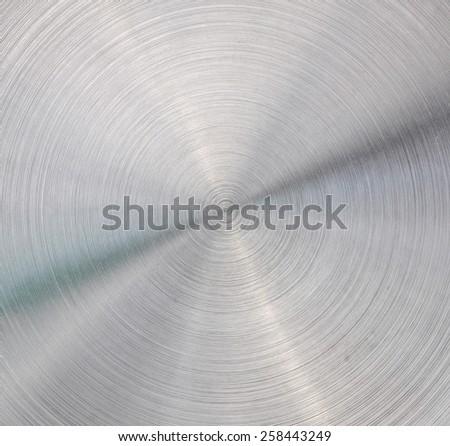 Texture Circular metal  - stock photo
