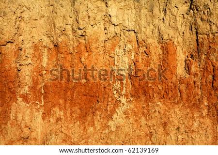 texture clay - stock photo