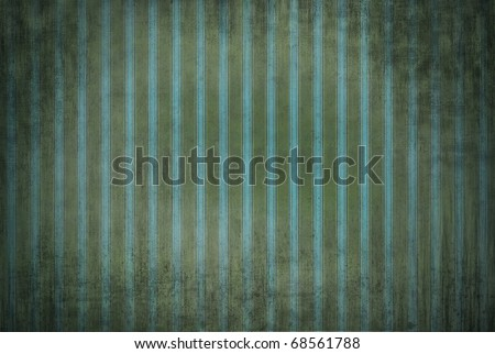 Texture dirty striped wallpaper in vintage style - stock photo